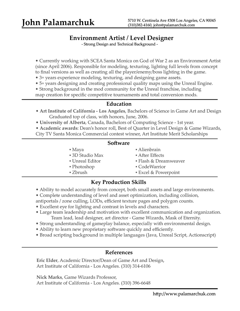 update resume out of darkness